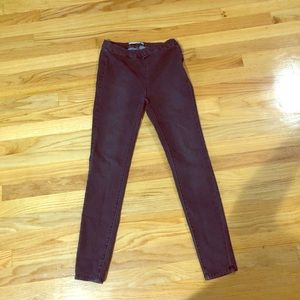 Free People Gray Skinny Pants